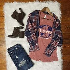 Project 28| Cropped Flannel